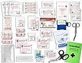 Komplett-Set Erste-Hilfe DIN 13157 EN 13 157 PLUS 1 für Betriebe mit Notfallbeatmungshilfe &...