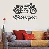 Tianpengyuanshuai Wandtattoo Motorrad Wandaufkleber Motorrad Sport Design Poster Wohnzimmer...
