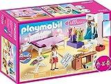 Playmobil 70208 Dollhouse Schlafzimmer mit Nhecke, ab 4 Jahren, bunt, one Size
