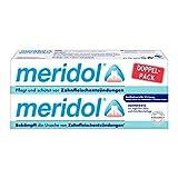 meridol Zahnpasta, Doppelpack (2 x 75 ml) - Zahncreme zur täglichen Zahn- und Zahnfleischpflege,...