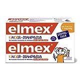 elmex Kinder-Zahnpasta, 2-6 Jahre, Doppelpack, 2x50 ml
