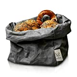 bun-di Swiss® - KREMPELBOX XL | Großer Brotkorb, Paper-Bag, Utensilo, Deko-Übertopf, Geschenkbox...