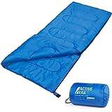 Premium-Deckenschlafsack, leicht Schlafsack mit Reißverschluss Indoor und Outdoor Camping...