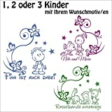 ***NEU*** Baby/Kinder Autoaufkleber Geschwister inkl. Wunschtext (freie Motiv,- Schrift.- und...