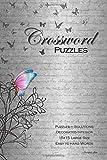 Crossword Puzzles: Elegant Vintage Theme. Decorated Interior. Artist Original, Puzzles with...
