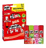 Pritt Klebestift Mix Pack, Klebstoff für Schule & Bürobedarf, 2 x 20g (Grün & Pink), 2 x 22g...
