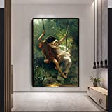sanzangtang Berühmte Ölgemälde Frühling und Herbst Gemälde berühmte Ölgemälde Frameless...