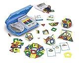 Geomag Education 216 - Magnetbaukasten - Geometrie und Konstruktions Spielzeug - 244-teilig