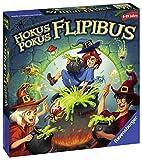 Ravensburger Kinderspiele 20355 - Hokus Pokus Flipibus - Aktionsspiel mit Springeffekt für Kinder...