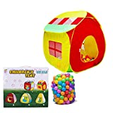 Zulux Kinder-Spiel-Zelt Spielhaus fr Kinder Pop Up Zelt Kinder Camping Spielhaus, Indoor/Outdoor...