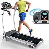 Kinetic Sports Laufband 1100 Watt 12 Trainingsprogramme fr GEH- u. Lauftraining, integrierte...
