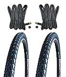 KENDA 2 x Reifen Fahrradreifen Pannensicher 28 Zoll 40-622 38C inklusive 2 x Schlauch mit...