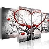 murando - Bilder Liebe 160x80 cm Vlies Leinwandbild 4 Teilig Kunstdruck modern Wandbilder XXL...