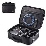 TYCKA Beamertasche, Projektor Reisetasche Large- 41x31x12cm- mit Verstellbarem Schultergurt &...