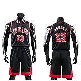 Daoseng Kinder Junge Herren NBA Michael Jordan # 23 Chicago Bulls Retro Basketball Shorts Sommer...