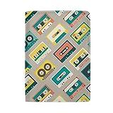 Coosun Reisepasshülle aus Leder, Retro-Design, mit einer Tasche