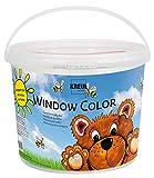 Kreul 40151 - Window Color Power Pack Bär, für kleine und große Kreative, 7 x 125 ml...