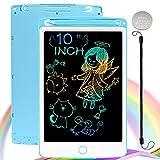NOBES LCD Schreibtafel Maltafel Zaubertafel, 10 Zoll Bunte Writing Tablet Zaubermaltafel Malbrett...