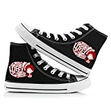 HAIGAFEW One Piece Segeltuchschuhe High Top Schnüren Anime Cosplay Canvas Shoes Unisex Laufschuhe...
