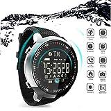 LQLQ IP68 Waterdichte Smart-Horloge Bluetooth Remote Camera Smartwatch für Männer Stappenteller...