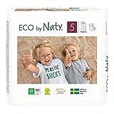 Eco by Naty, Premium-Bio‑Höschenwindeln Pants, Größe 5, 80 Stück, 12–18 kg, aus...