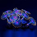 Uniclife Glowing Effect Künstliche Coral Plant Dekor Ornament für Aquarium Aquarium, Orange