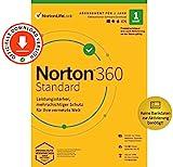 Norton 360 Standard 2021 | 1 Gerät | Antivirus | Unlimited Secure VPN & Passwort-Manager | 1 Jahr |...