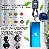 Mode Persnliche Luftreiniger Halskette USB-beweglicher Tragbarer Luftreiniger Mini Luftfilter Luft...
