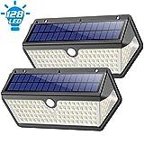 Solarlampen für Außen, Feob 【2020 Neuestes Design -Langlebige】128LED Solarleuchten Aussen mit...