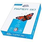 Avery Zweckform 2574 Drucker-/Kopierpapier (500 Blatt, 80 g/m², DIN A4 Papier, hochweiß, für alle...