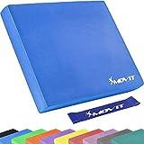 Movit® Balance Pad Sitzkissen blau mit Elastic Tapes