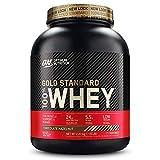 Optimum Nutrition ON Gold Standard Whey Protein Pulver, Eiweißpulver zum Muskelaufbau, natürlich...