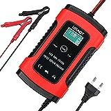 URAQT Autobatterie Ladegerät, Car Battery Charger 6A/12V, Erhaltungsladegerät Batterieladegerät,...