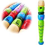 Keepdrum KFL1-GR Flöte aus Holz für Kinder Grün
