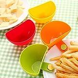 HKHJN Einteilige sortierten Salatsoße dip Dish Jam Clip Cup Geschirr Küchenzubehör,...