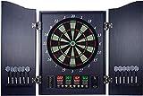 TYUXINSD Genau Elektronische Dartboard-Set 27-Spiele und 243 Variationen & 4 LED-Anzeige mit 12...