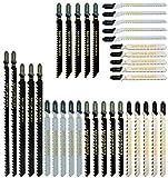Saxton Stichsägeblätter-Set T144D T101B T101BR T111C T101AO T118G T744D T344D Holz & Metall Fit...