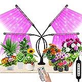 Pflanzenlampe LED, Maxuni Pflanzenlicht, Vollspektrum für Zimmerpflanzen mit Zeitschaltuhr, 3 Arten...