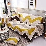 DAMUZHI Universal Sofabezug Stretch Sofa Möbelbezug Sofatuch 1/2/3/4 Sitz 1-Sitz 90-140Cm Farbe 2