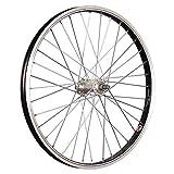 Taylor-Wheels 20 Zoll Vorderrad Laufrad Büchel Alufelge/Aluminium Nabe Vollachse - schwarz