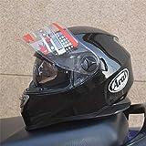 Berrd Helm Dual Lens Motorradhelm Super High-End, Unisex Capacete Futter weich und komfortabel -...