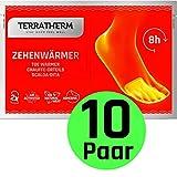 TerraTherm Fuwrmer-Pads, Wrmepads selbstklebend, 8h warme Fe, Zehenwrmer Pads extra dnn und angenehm...