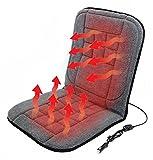 Beheizte Sitzauflage, beheizter Sitzbezug, Sitzheizung für Auto, PKW, LKW, Wohnmobil, Autositz für...