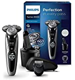 Philips S9711/31 Series 9000 Nass- & Trockenrasierer (Reinigungsstation Plus, Bartstyler)