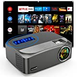 Beamer 8500 Lumens, Vili Nice Native 1080P Beamer Full HD, Unterstützt 4k LED Outdoor Beamer...
