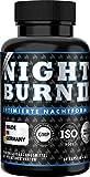 NIGHT BURN 2 Kapseln für die Nacht, die Erfolgs-Rezeptur aus den USA, Made in Germany nach ISO und...