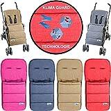 Fußsack/Sommerfußsack (Mit KLIMA GUARD - TECHNOLOGIE) für Kinderwagen/Buggy/Jogger Kinder...