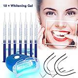Teeth Whitening Kit Bleaching Gel - Zahnaufhellung - für Weisse Zähne Bleaching Zähne Zu Hause...