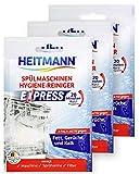 HEITMANN Express Spülmaschinen Reiniger: hygienische Sauberkeit fürs Geschirr, Hygienereiniger...