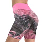 Vectry Damen Kurze Hose Sport Leegings Shorts Hohe Taille Bikeshorts Athletic Workout Yoga Running...
